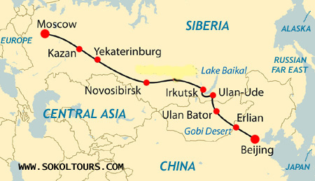 Travel From China To Russia By Train